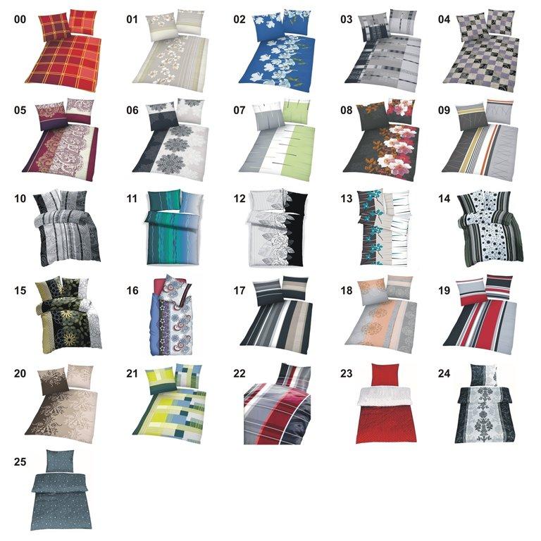 microfaser bettw sche 155x220 80x80 cm 2 4 tlg rei verschluss viele designs shop. Black Bedroom Furniture Sets. Home Design Ideas