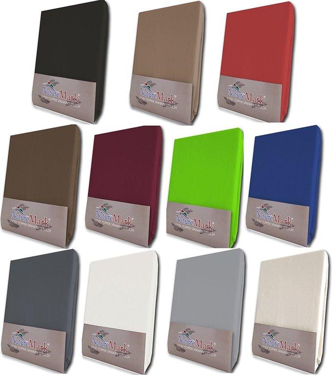 restposten topper spannbettlaken spannbetttuch 4 gr en stark reduziert ebay. Black Bedroom Furniture Sets. Home Design Ideas