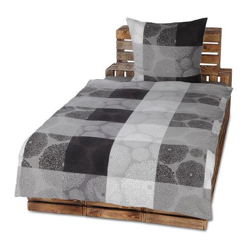 flauschige fleece bettw sche 135x200 155x220 200x200 cm w rmend ebay. Black Bedroom Furniture Sets. Home Design Ideas